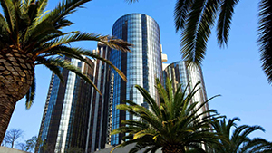 Westin Bonaventure 400 S. Figueroa St. Los Angeles, CA 90071 213-624-1000 Room Rates: $199/night single/double and $219/night triple/quad, plus 15.7 percent tax per room. Reservation deadline: March 22, 2016